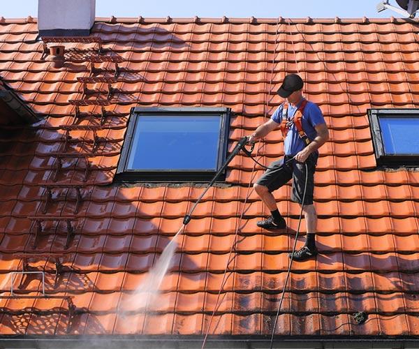 Nettoyage de toitures à Aigurande